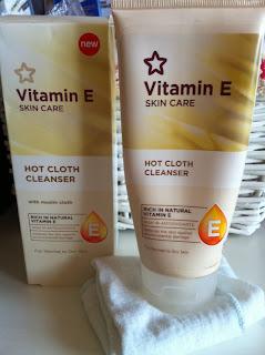 Vitamin E Hot Cloth Cleanser by Superdrug- mój ulubieniec ;)