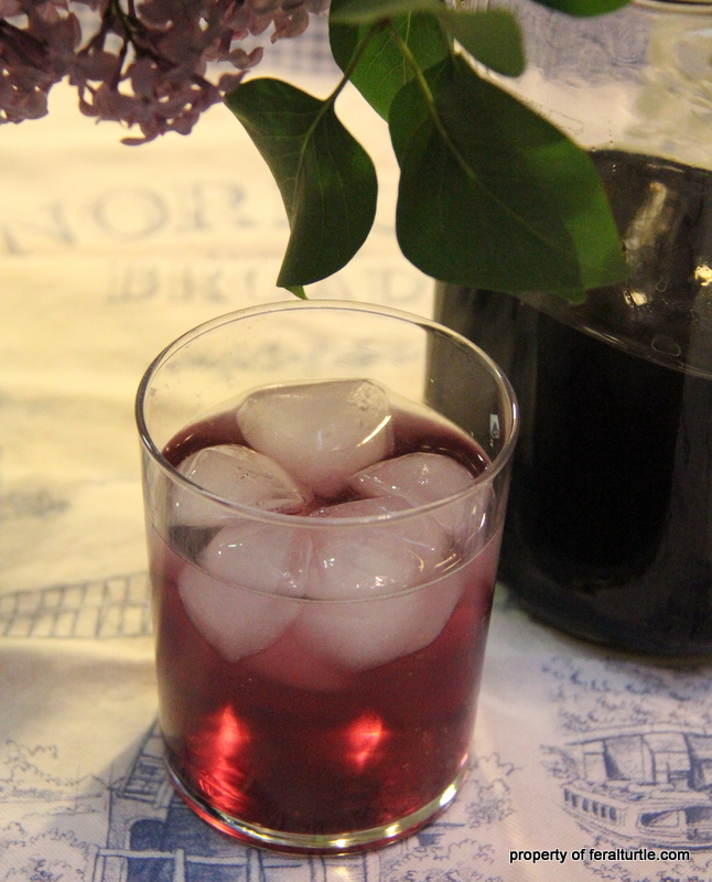 The Feral Turtle: Lilac Simple Syrup