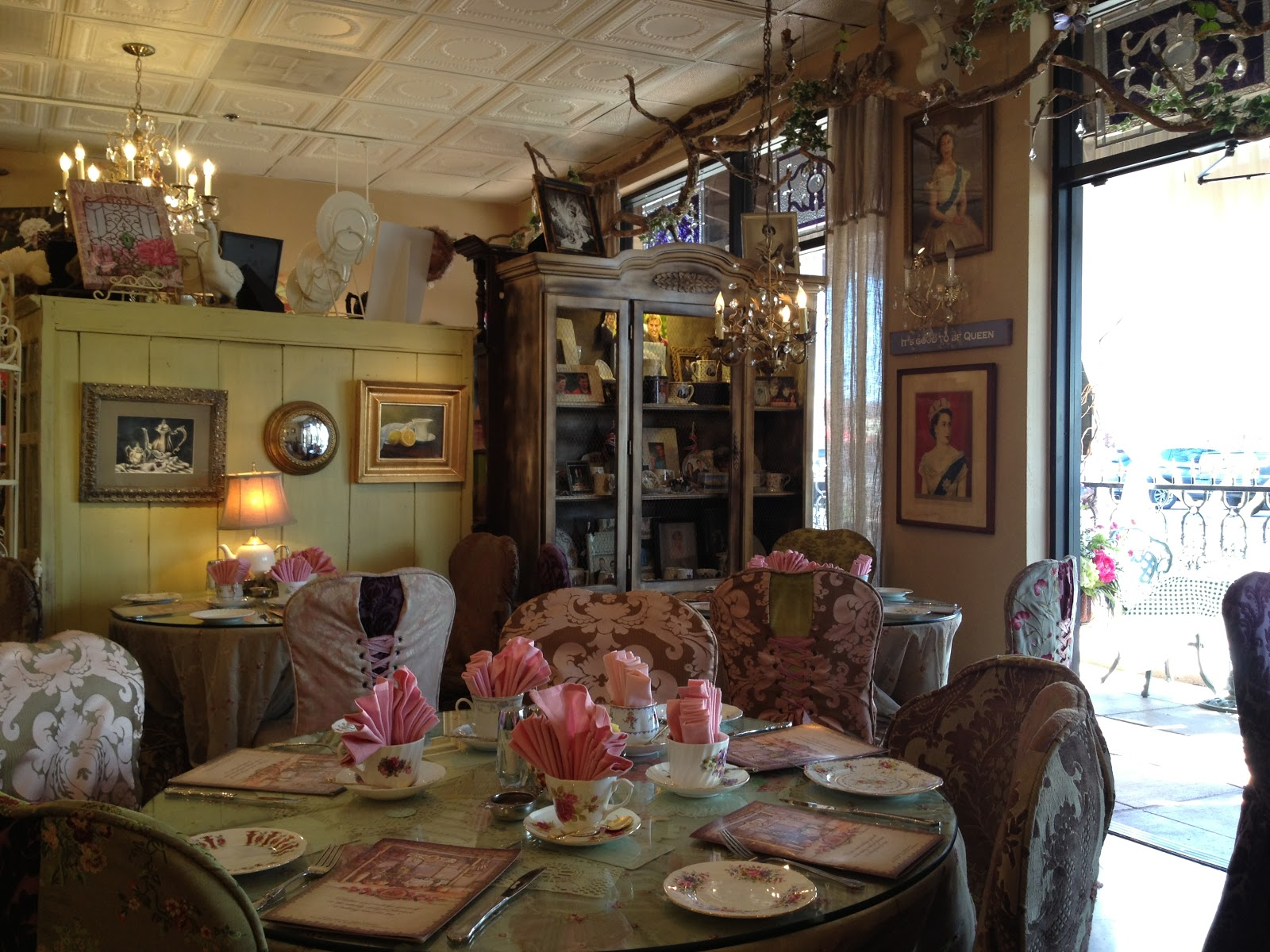 An international tea moment an english rose tea room moment - Decorated homes ...