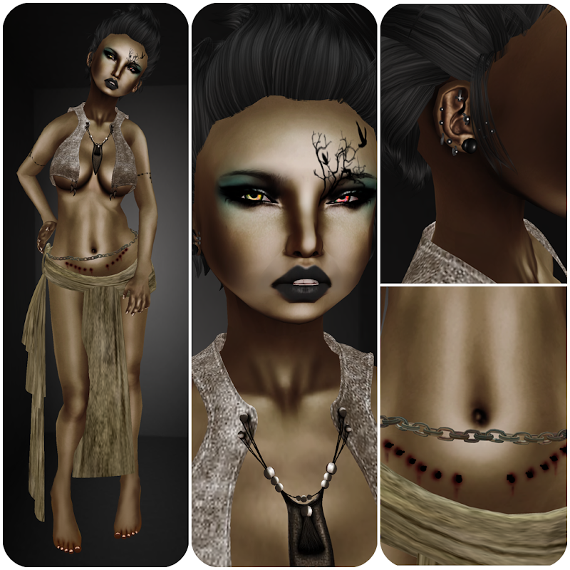 hair /Wasabi Pills/ Skye Mesh Hair - Ash for Zombie Popcorn Brand tysm  title=