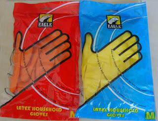 ถุงมือยาง