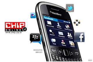 Review BlackBerry 9320 Curve