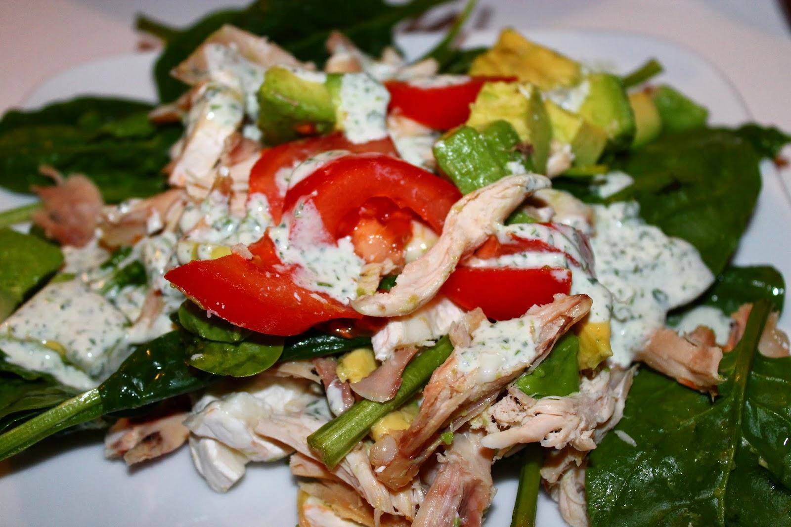 salade de poulet sauce yaourt