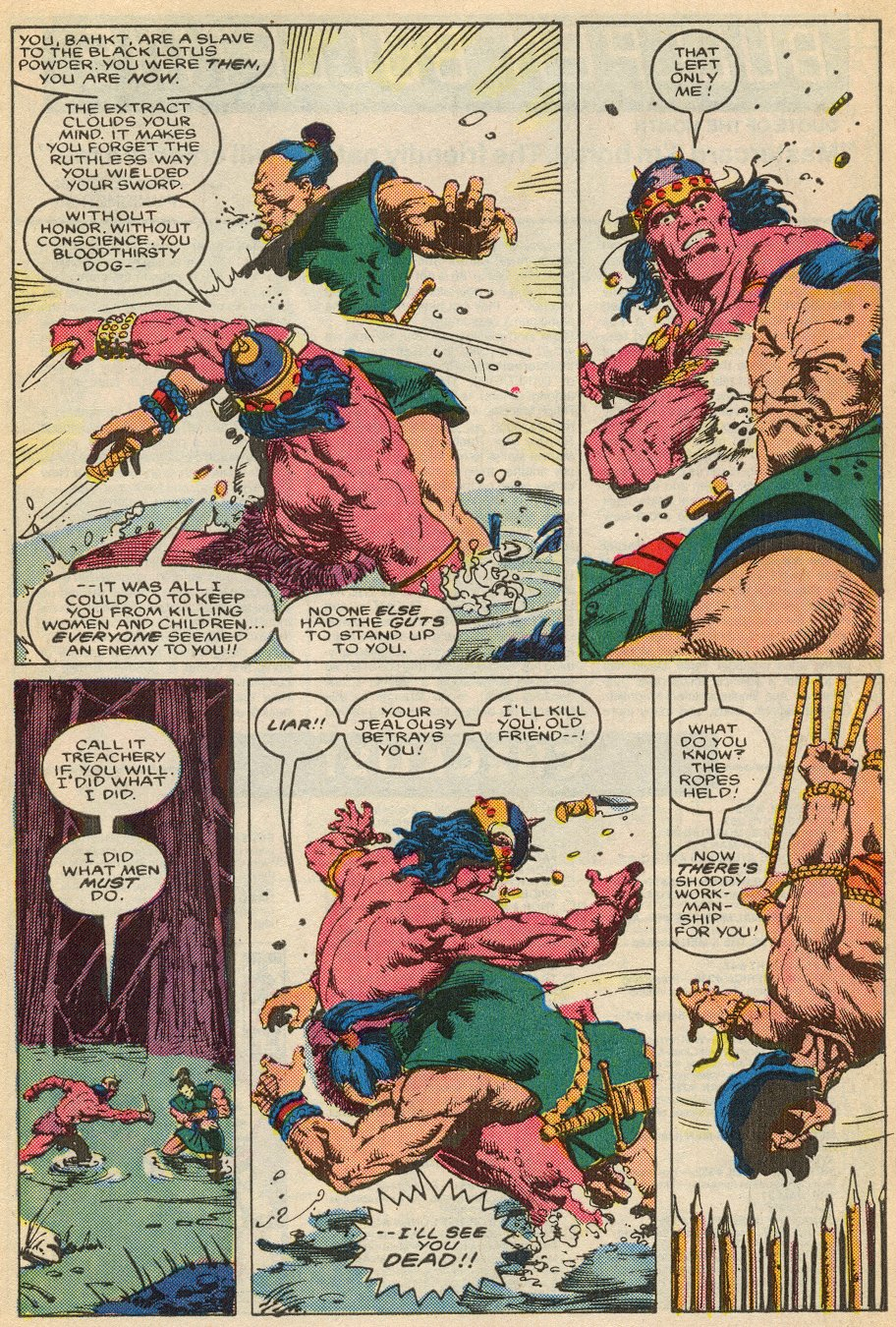 Conan the Barbarian (1970) Issue #195 #207 - English 23