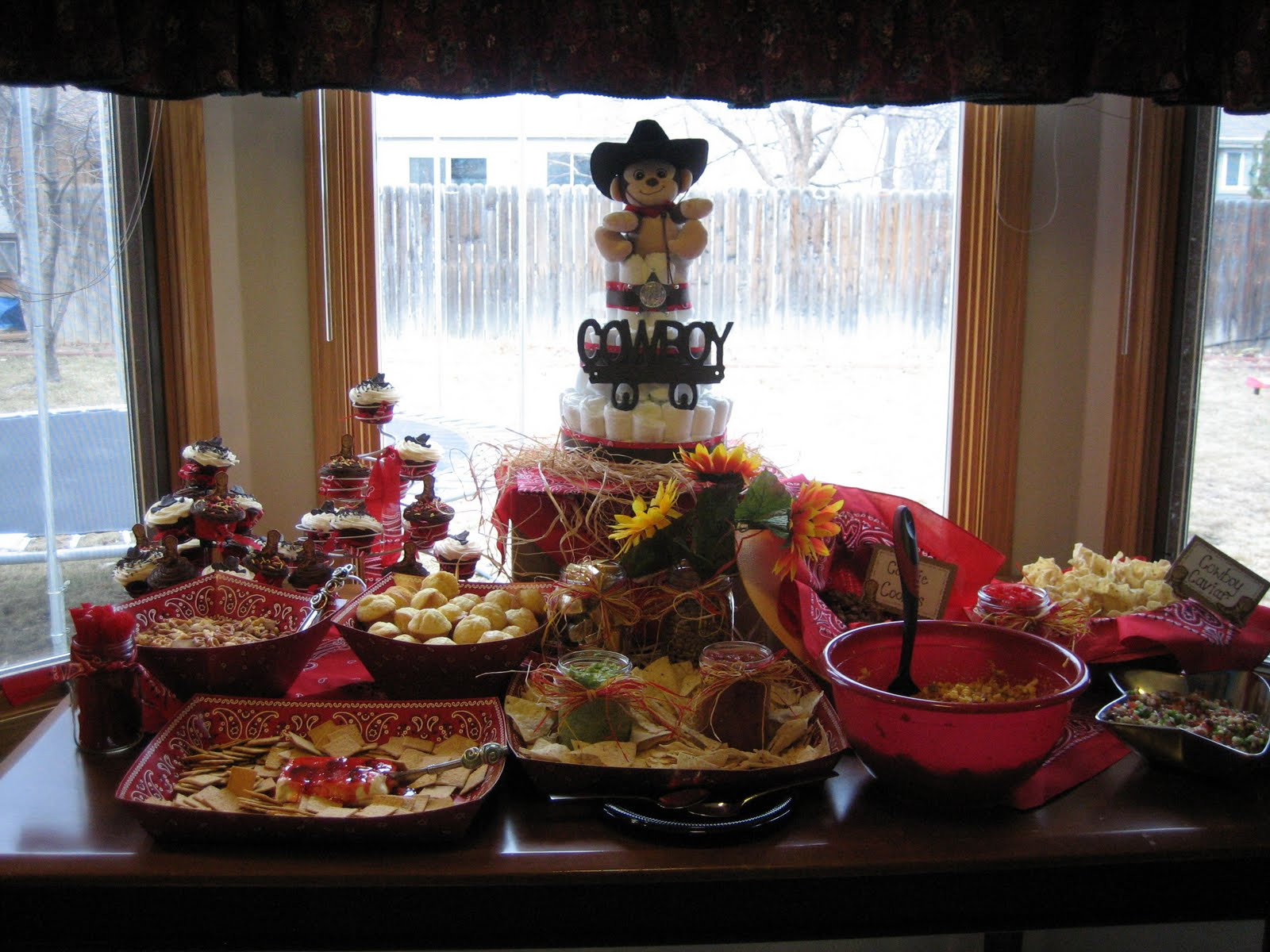 Five Party Post Cowboy Baby Shower