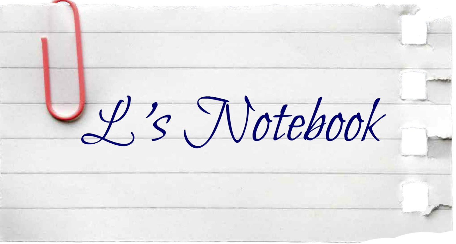 L's Notebook