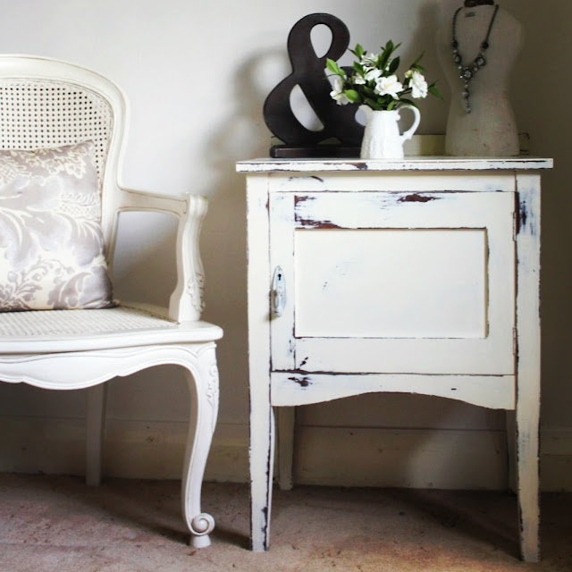 hand painted furniture Sydney Lilyfield Life for sale shabby chic cabinet