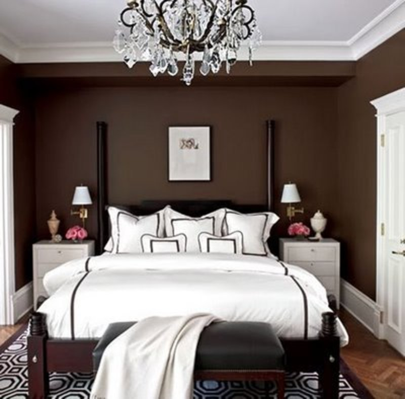 Superb Brown And White Bedroom Ideas