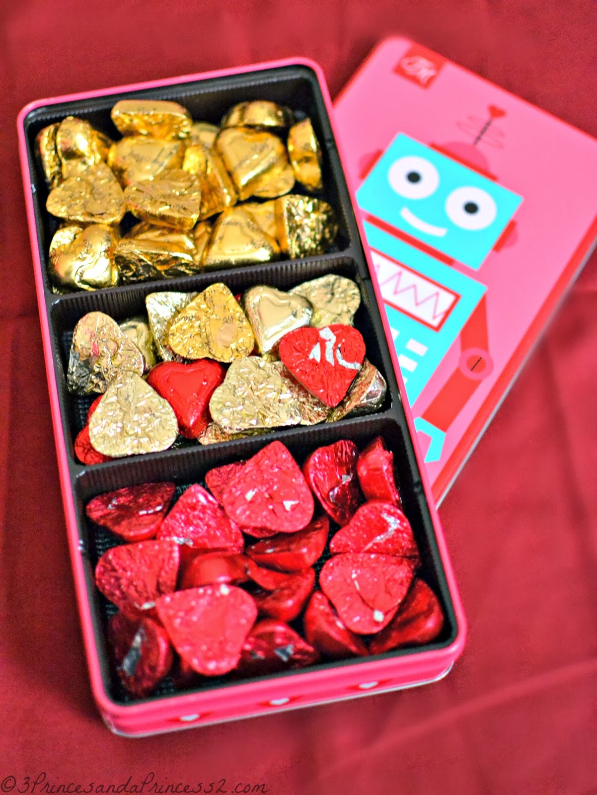 Vaelntine Robot Tin - Kids Valentine Gift Options