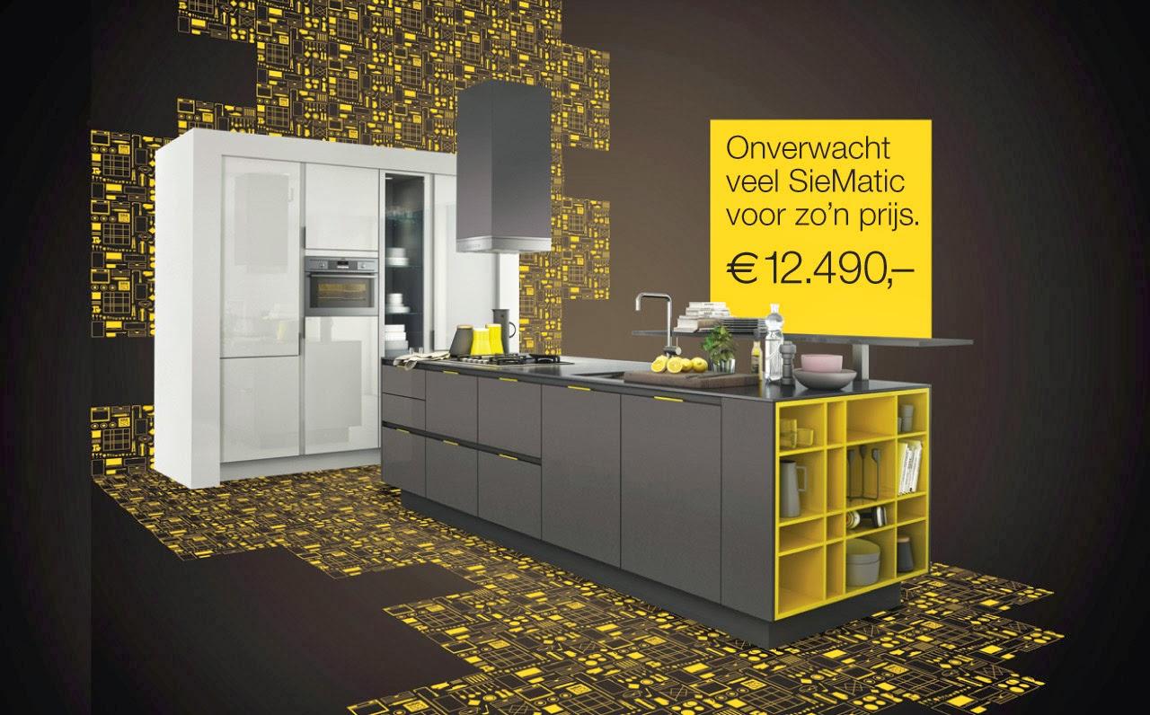 Siematic Keuken Aanbieding : Siematic keuken S3 serie korting voucher van 500,- euro!
