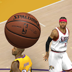 NBA 2k14 HD Spalding Ball Mod - Dark Brown