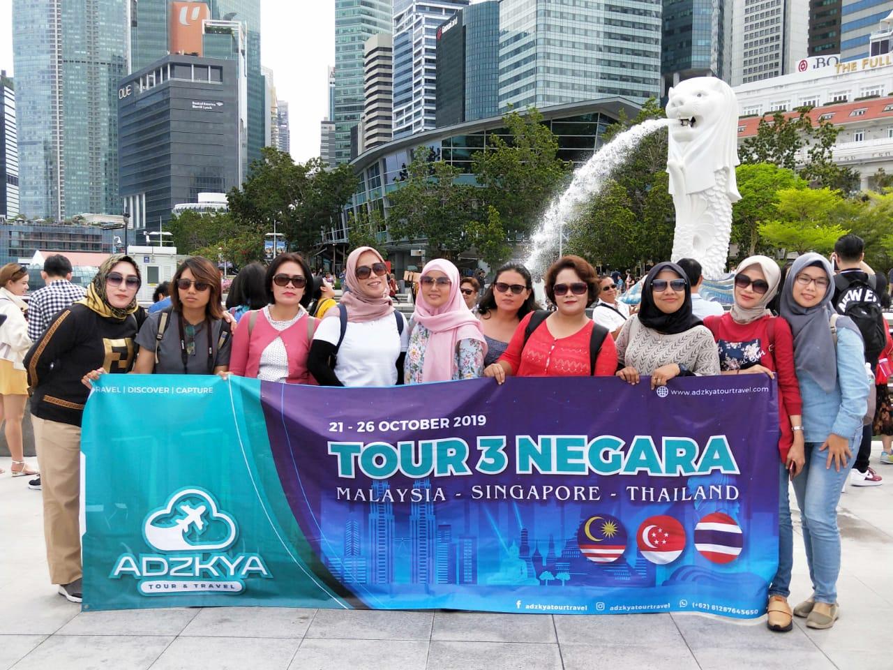 TOUR3 NEGARA (SIN-KL-THAI) 21 - 26 OKT 2019