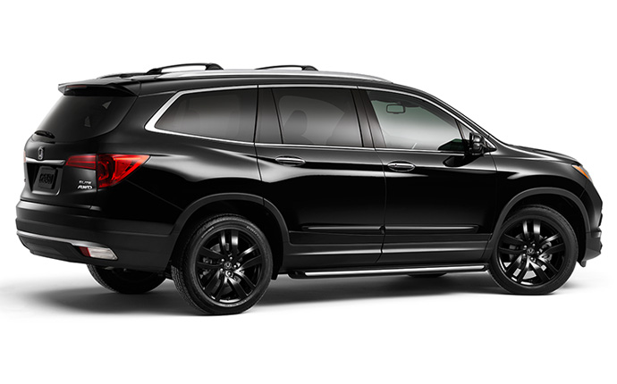2016 Honda Pilot Earns Top Safety Pick+ Rating