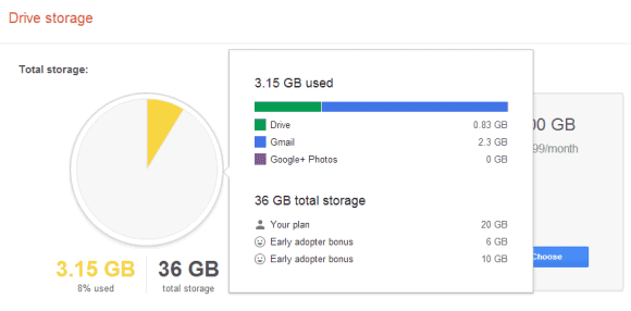 Google's Unified Storage, Now Available