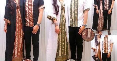 Butik Muslimah OLShop: Jual Baju Muslim Couple CP10 Kaftan Etnik Batik