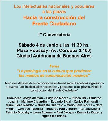 Debates en las Plazas - Ideología y politica