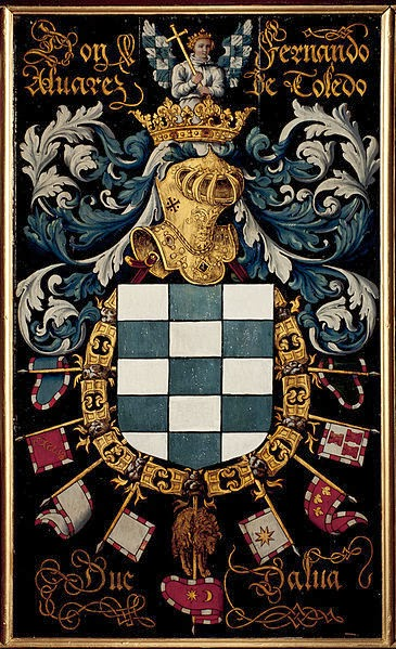 Cota de armas del tercer Duque de Alba