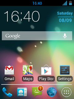 Custom ROM Android Galaxy Y - Jelly Blast V3