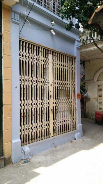 Mặt tiền căn nhà thổ cư giá rẻ Hồ Tùng Mậu, Cầu Giấy, HN