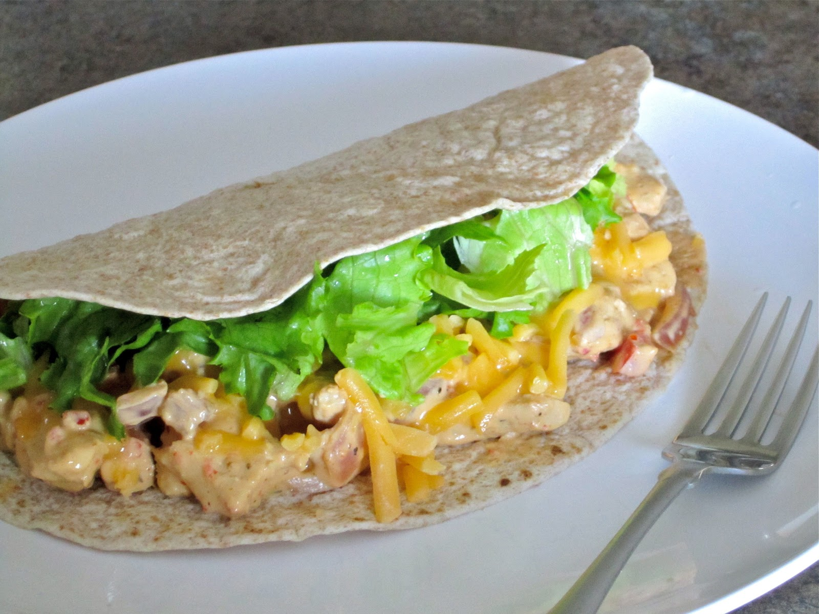 piece of cake . . .: Creamy Chicken Fajitas