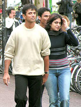 Rahul Dravid Wife Pictures