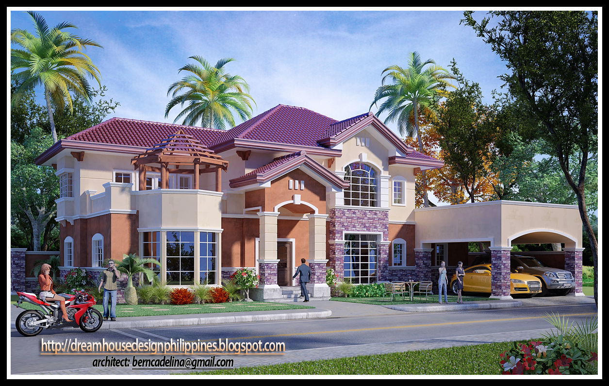 Philippine dream house design design gallery for 3d wallpaper for dream home