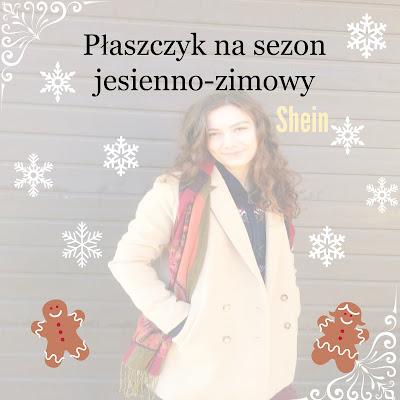 Płaszczyk na sezon jesienno-zimowy, Shein