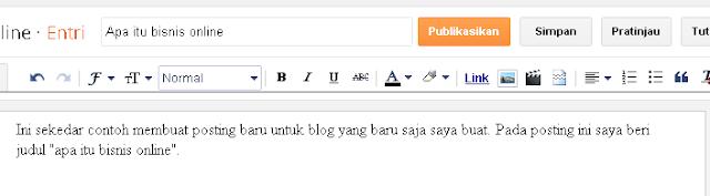 webblog gratisan untuk bisnis
