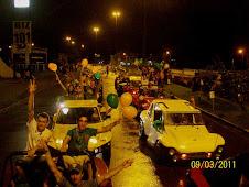 Desfile dos 160 anos Joinville