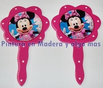SORPRESAS ESPEJOS MINNIE MOUSE