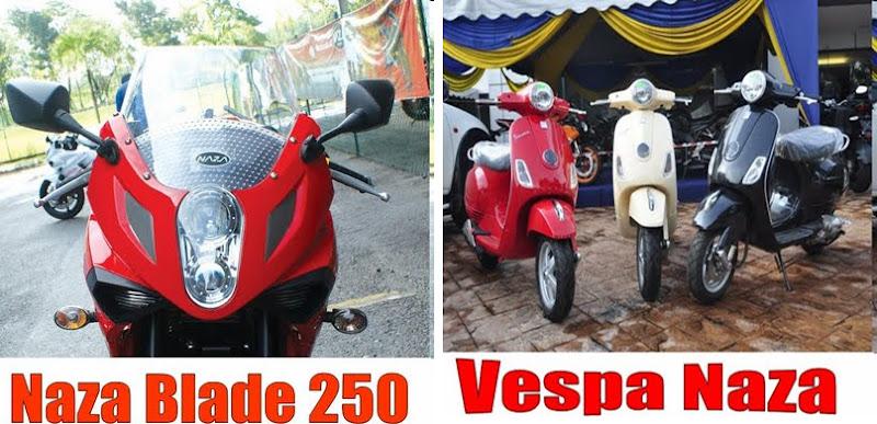 28* Vespa Naza LX150 , GTV250, GTS300 title=