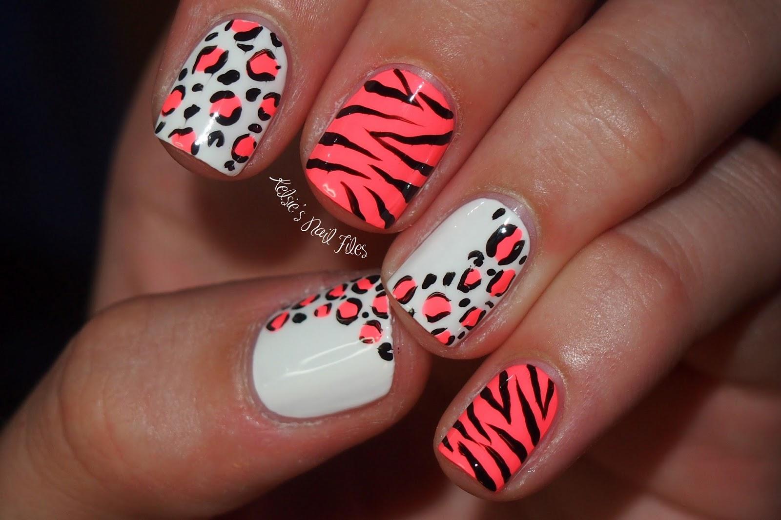 Pink zebra nails nails pinterest - Feranti Amorous Animals Wild Safari 4 Pc Set Leopard Zebra Glam Vibe Vibrator