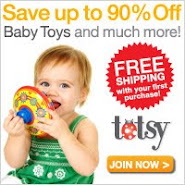 Totsy: The best toys for babies.
