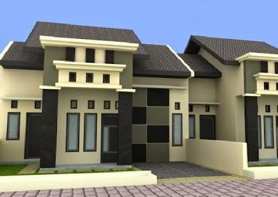 Desain Rumah Minimalis Perkotaan 9