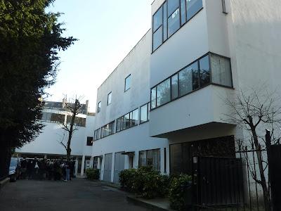 Villas blanches de le corbusier - 10 square du docteur blanche 75016 paris ...