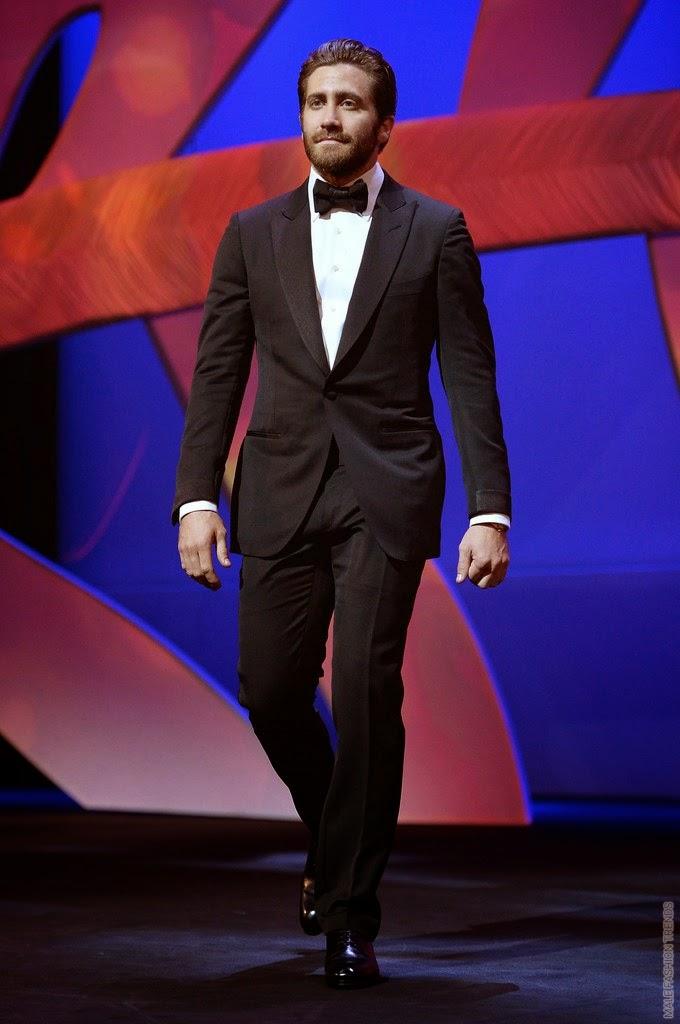 jake gyllenhaal en tom ford 68th annual cannes film festival male fashion trends. Black Bedroom Furniture Sets. Home Design Ideas