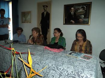 Professoras escritoras da Alane, UBE e Academia Feminina de Letras