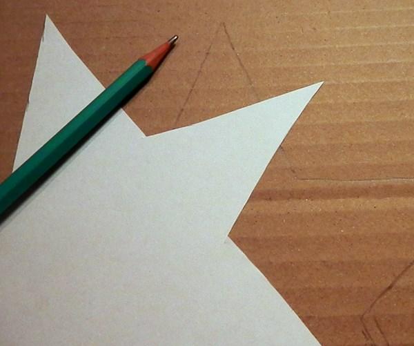 DIY : l'étoile de Noël en bois
