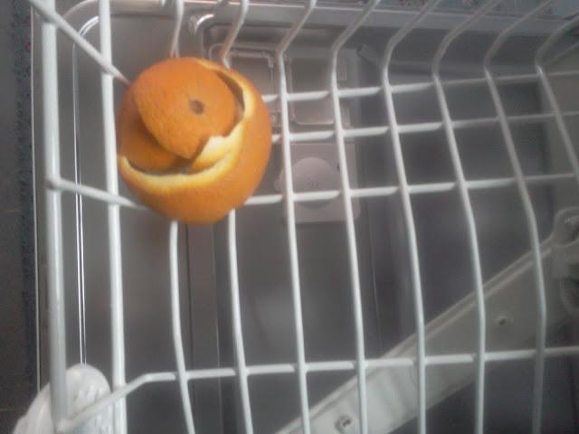 kendin yap-bulaşık makinası kokusuna ne iyi gelir-portakal kabuğu