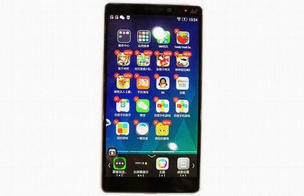 Motorola K920, Lenovo'nun Yeni Telefonu