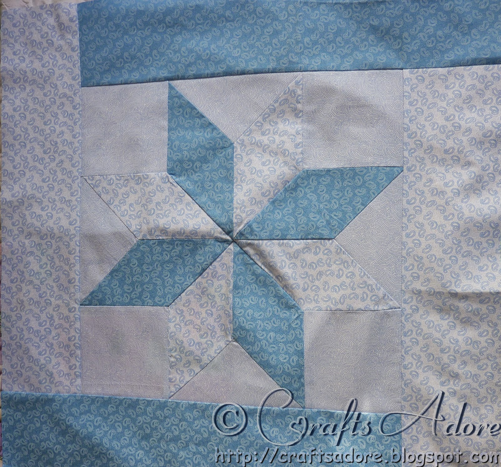 Sewing Patchwork Baby Blanket