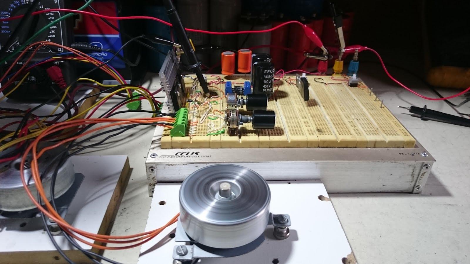 Circuito Motor Bedini : Foco eletrônico projeto gerador de pulsos com motor nidec