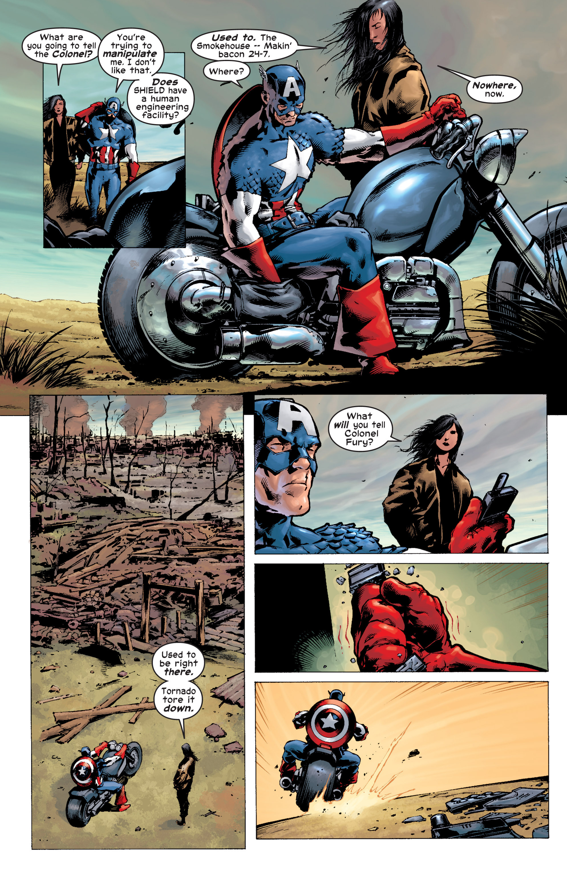Captain America (2002) Issue #7 #8 - English 21