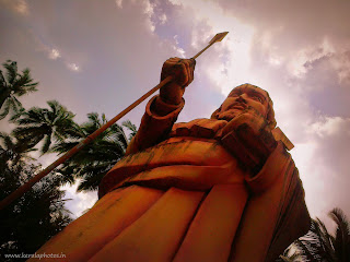 St Thomas Statue at Palayur,Thrissur