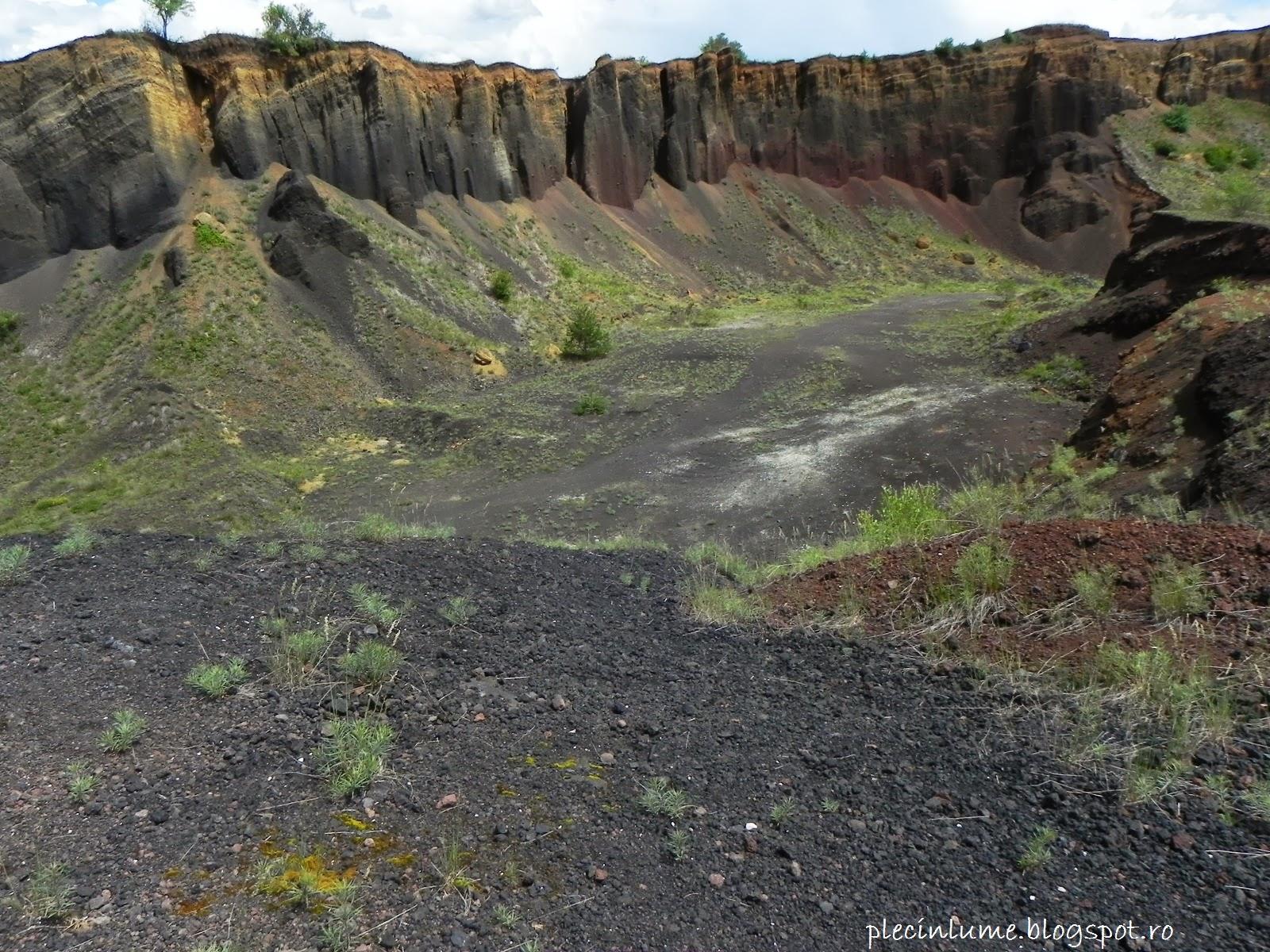 Acelasi crater al vulcanului