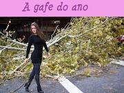 . fica com a nossa embaixadora das catástrofes, a modelete Nana Gouveia, .