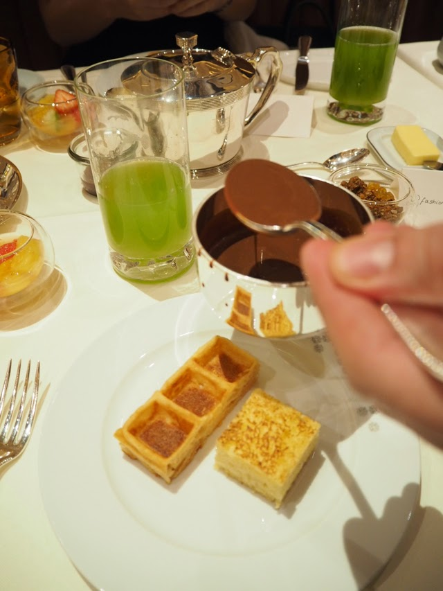 Breakfast at The Grill at The Dorchester