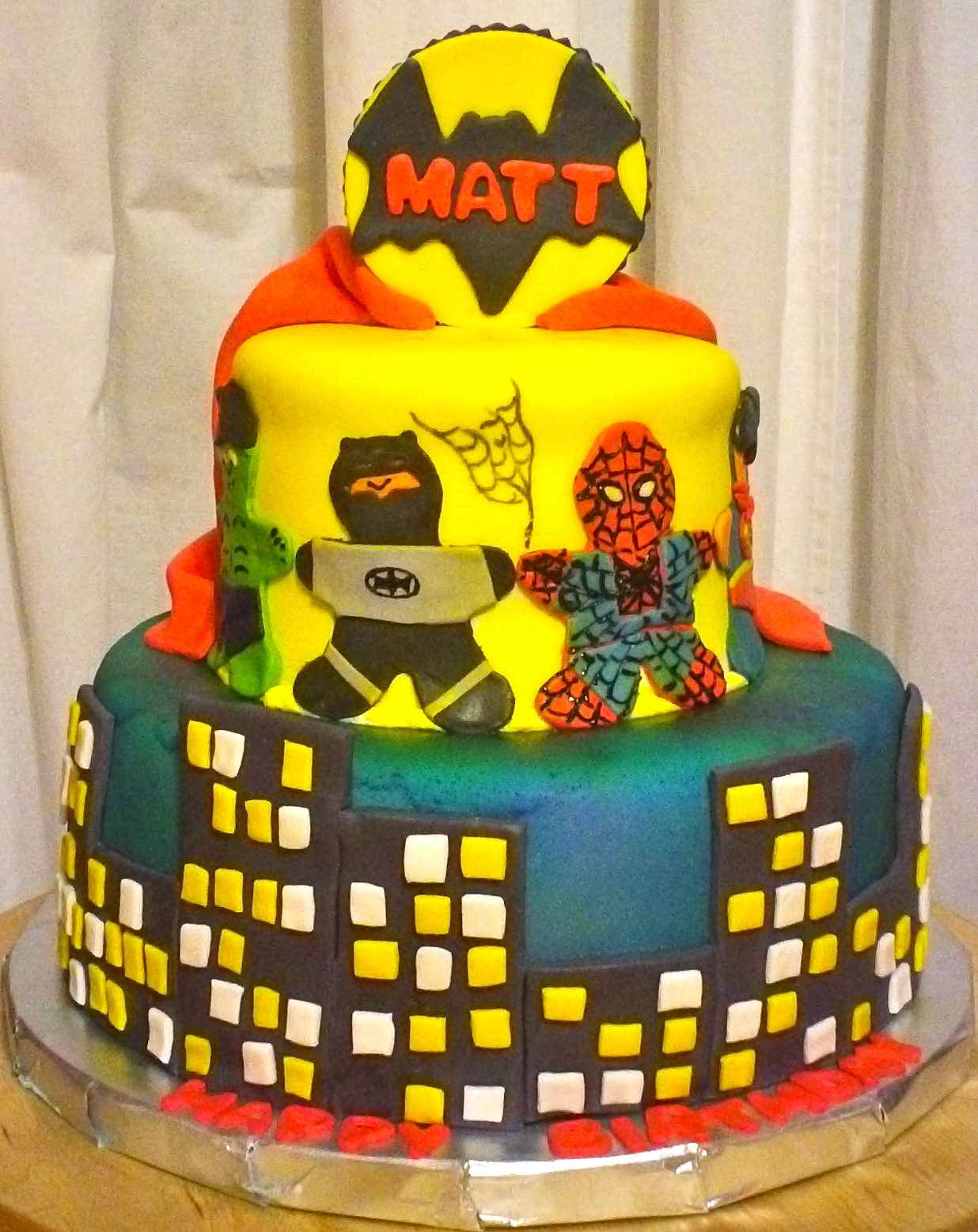 Debbies Little Cakes Marvel Super Heroes
