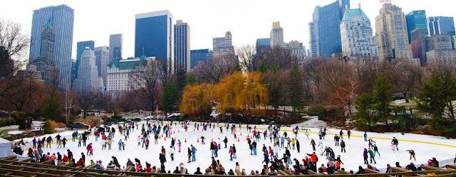 central park pista de hielo