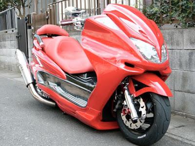 Foto Modifikasi Motor Yamaha Mio J